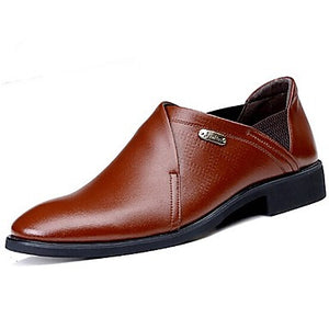 Men's Shoes Amir Leather Oxfords Brown