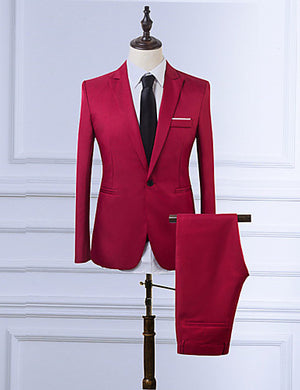 Men's Business Suit - Hamarini2