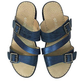 Patrizia by Spring Step Alicia Sandals Blue size 8 - Fab50Fashions