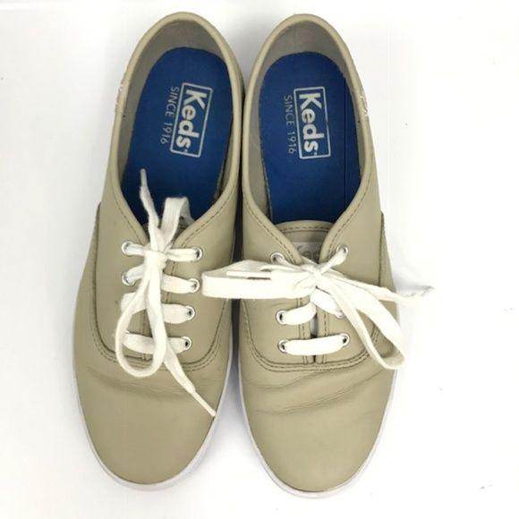 Ked's Champion Oxford leather Sneaker size 6.5 - Fab50Fashions