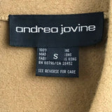 Andrea Jovine wool double breasted crop jacket size S - Fab50Fashions