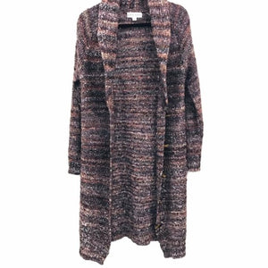 Knox Rose Multi-color wool blend cardigan duster size S - Fab50Fashions