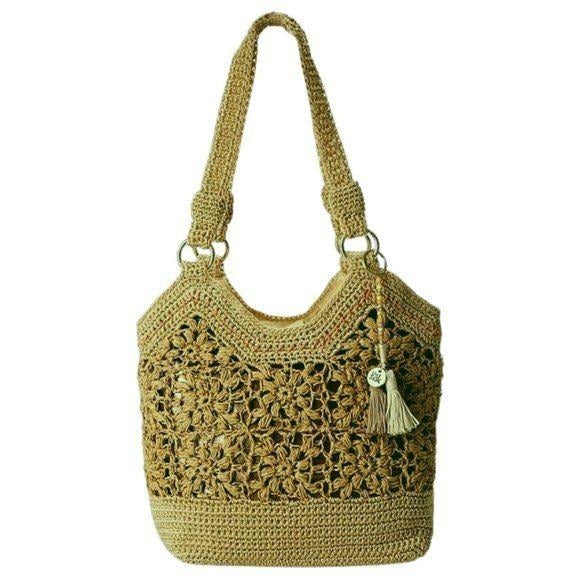 The Sak Ellis Tote Floral Crochet Pattern - Fab50Fashions