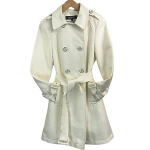 Kenneth Cole Reaction Double Breasted Trench Coat size M - Fab50Fashions