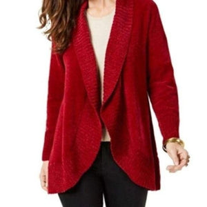Style & Co Style & Co. Chenille Shawl Collar Cardigan Sweater size L - Fab50Fashions