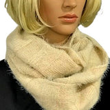 Noelle Infinity Scarf Tan - Fab50Fashions
