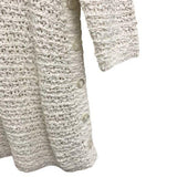 J. Jill Cream Cotton Knit Tunic Sweater size S - Fab50Fashions