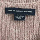 American Eagle Cold Shoulder Bell Sleeve Sweater size S - Fab50Fashions