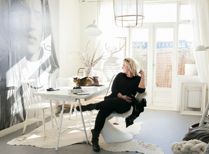 Nordic home tour: The bohemian home of SANNE VAN &STIJL IN HAARLEM