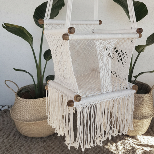 baby crochet hanging chair