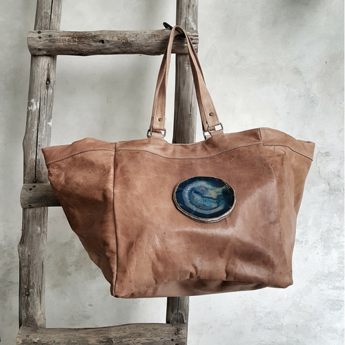 leather bag maktub
