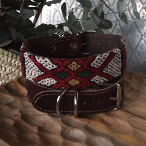 kilim dog collar mahir