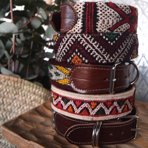 kilim dog collar ghali