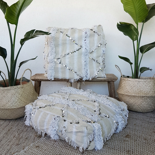 boho floor pillow noor
