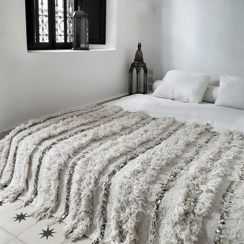 moroccan wedding blanket jumanah