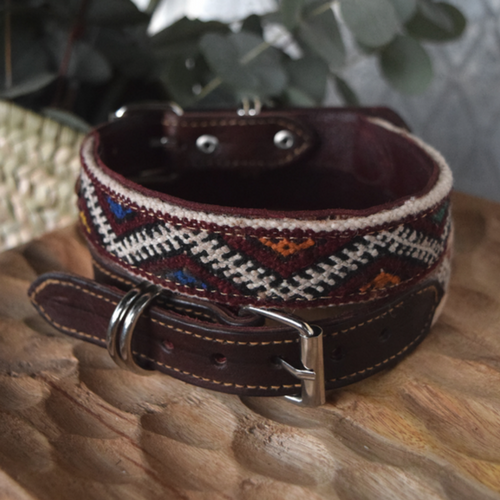 kilim dog collar salah