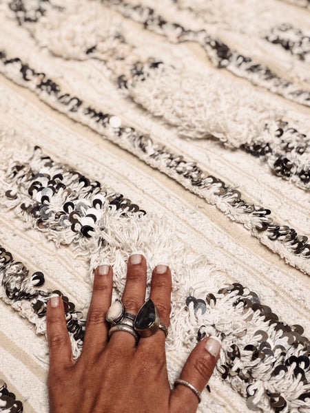 moroccan wedding blanket zwina