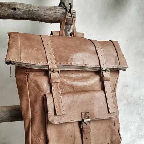 leather backpack anaan