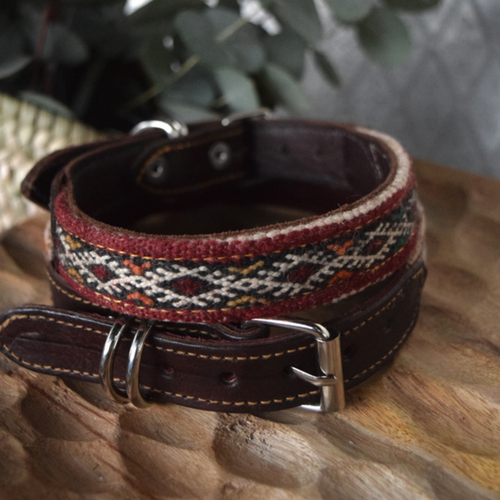 kilim dog collar falah