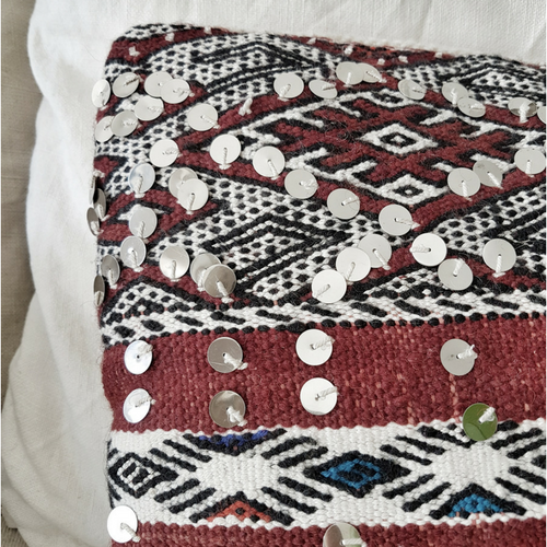 moroccan kilim pillow may