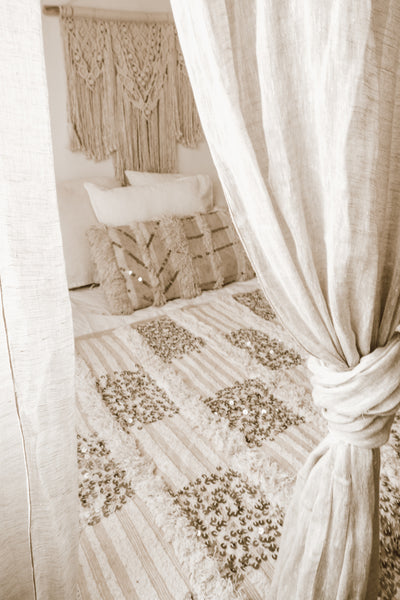 moroccan wedding blanket zina