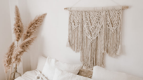 Macrame wallhanging art big size