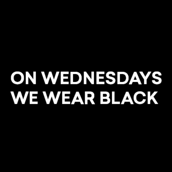 On Wednesdays we wear BLACK - Pre Order