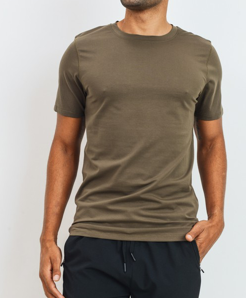 Olive Cool Touch Cotton Active Shirt
