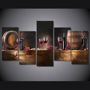 Wine Lovers Canvas