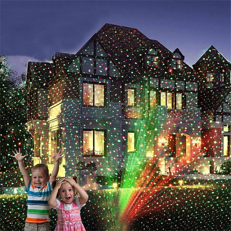 Star Shower Lazer Light