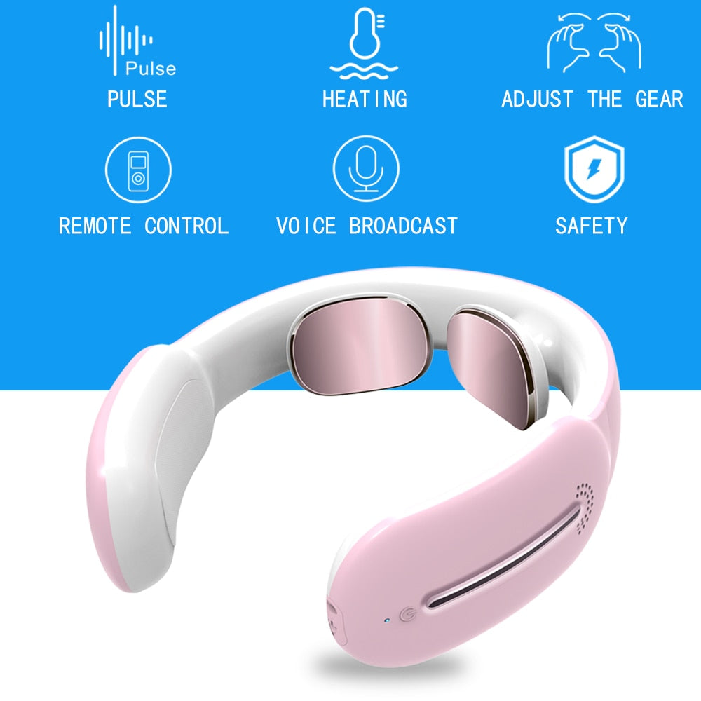 Intelligent Neck Massager Eliminate Neck and Shoulder Aches Without Visiting a Doctor