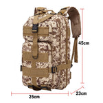 Tactical Military Backpack Waterproof Camping Hiking Fishing Outdoor Bag