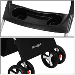 2 in 1 Premium Pet Cat Dog Stroller and Dog Cat Travel Carrier Bag