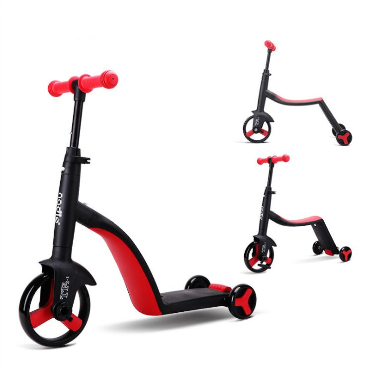 Children Scooter Tricycle 3 In 1 Toddler Balance Bike