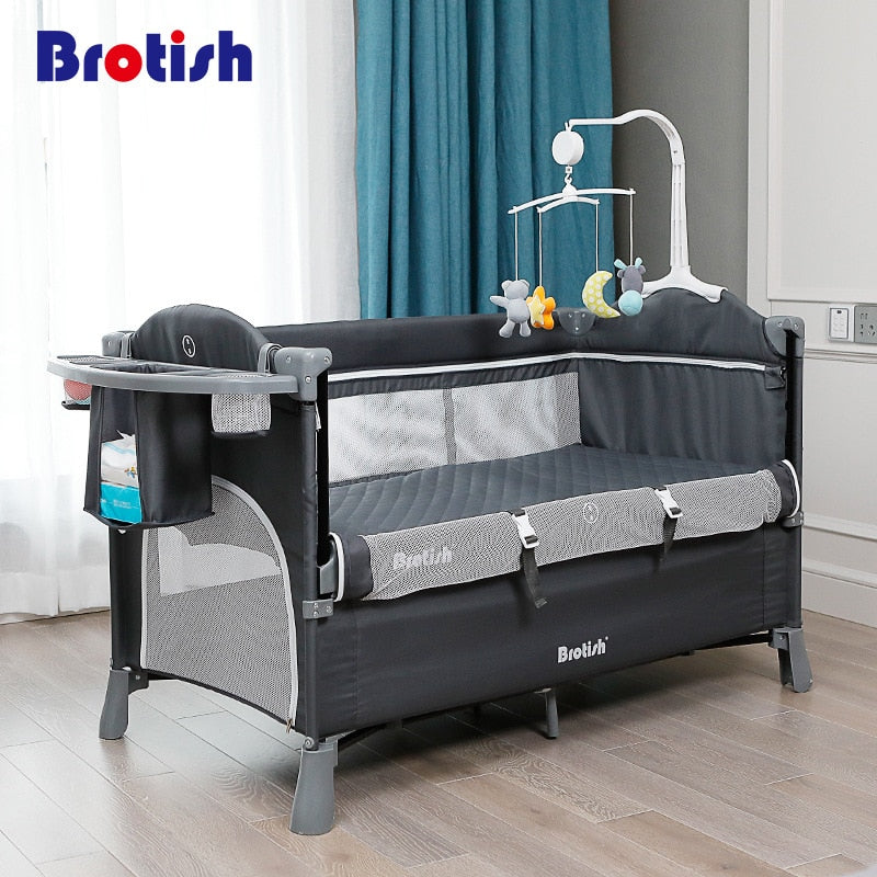 Baby Bedside Bassinet Co-Sleeper Crib