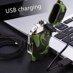 USB Charging Silent Lighter Waterproof and Windproof Outdoor Explorer