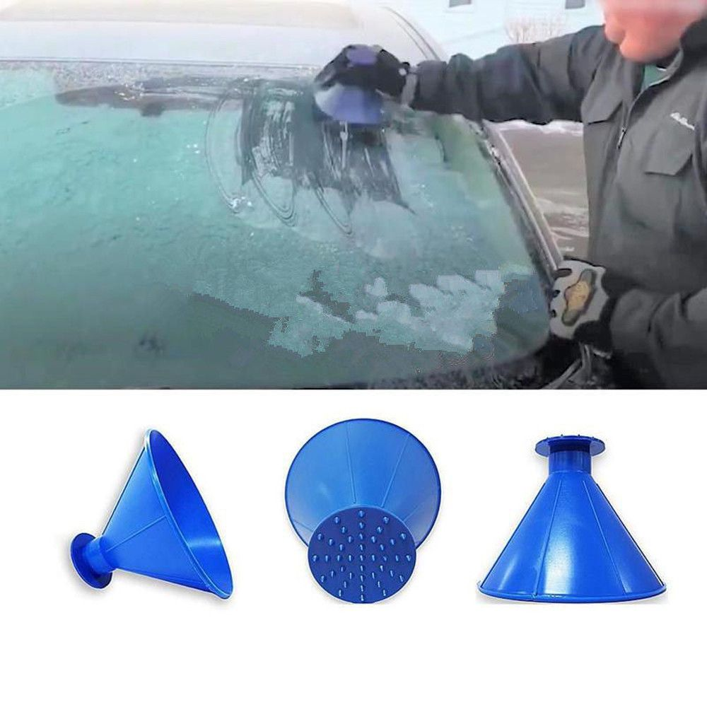 InstaScrape Instant Ice Remover from your Vehicle