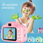 Chargeable Digital Mini Camera Kids Cartoon Cute Camera Toys Outdoor Photography