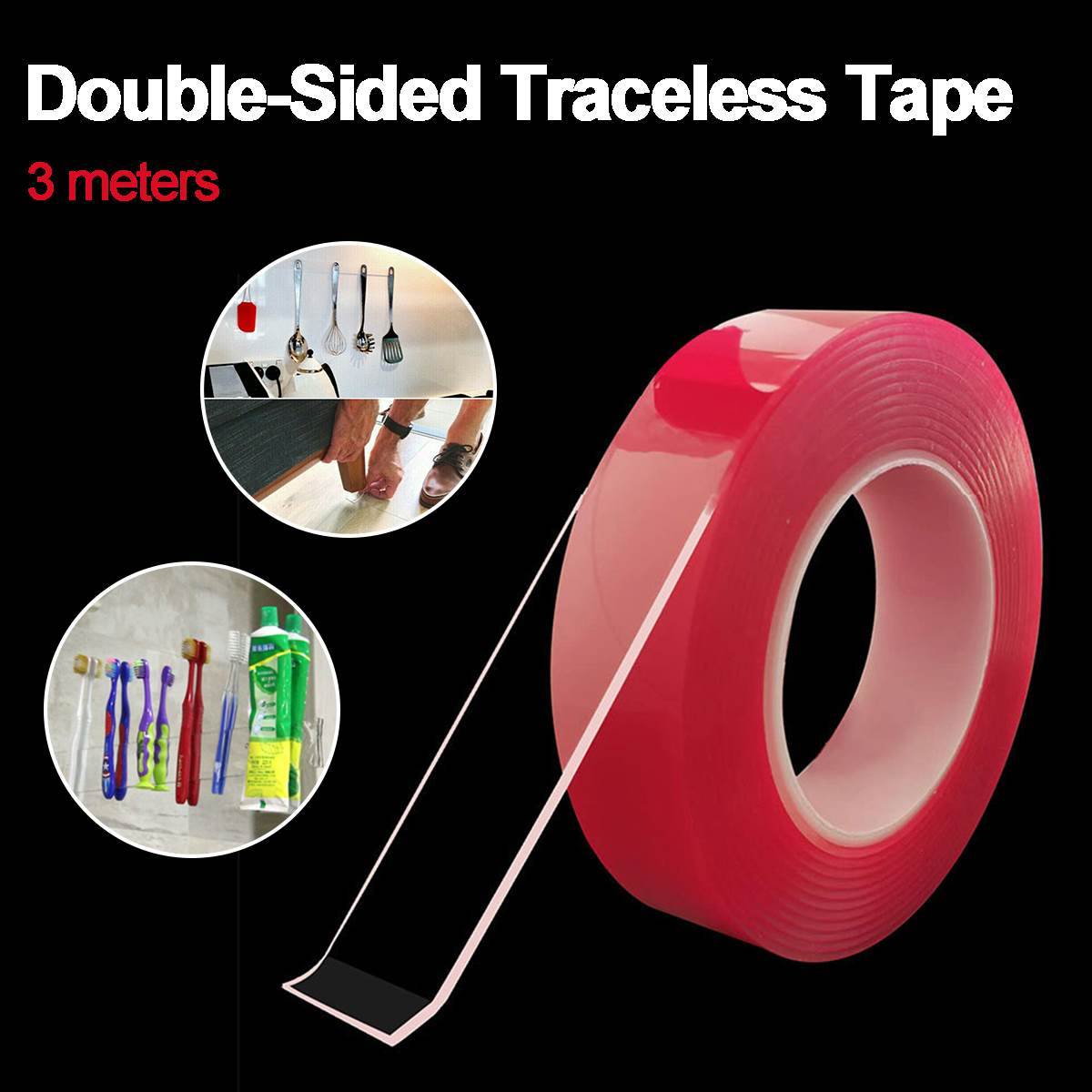 Heavy Duty Clear Gel Tape