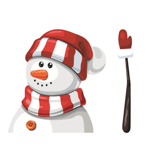 Santa Claus Waving Wiper with Decal