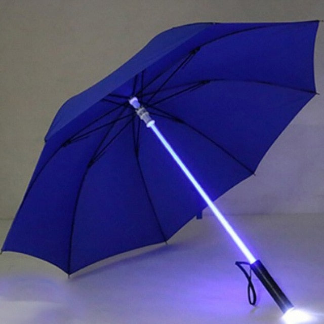 LED Light Up Lightsaber Umbrella