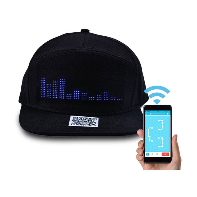 Bluetooth LED Message Hat