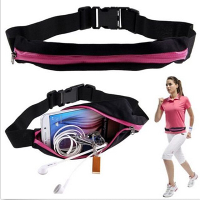 Double Pocket Sports Running Belt