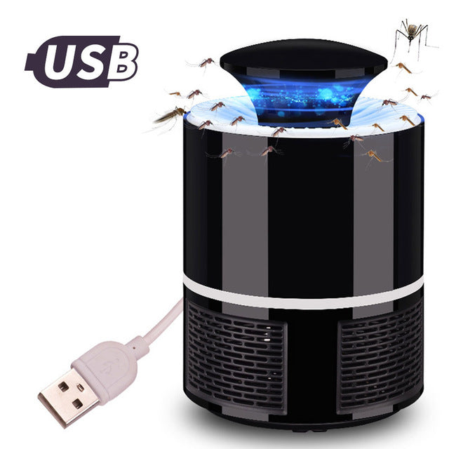 MLT™ - USB POWERED LED MOSQUITO KILLER LAMP - QUIET & NON-TOXIC