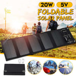 Portable Solar-Powered USB Charger