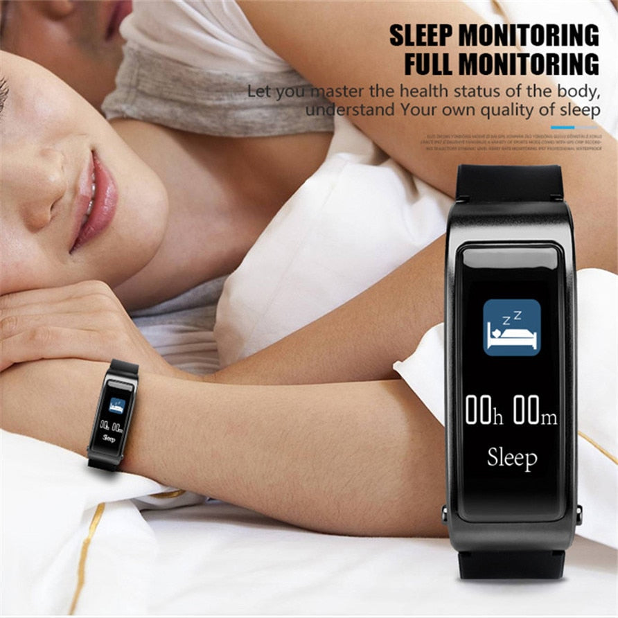 Talkband Y3 Plus Smart Watch with Earphone Heart Rate Sleep Monitor