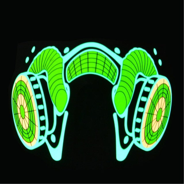 LED Mask - Sound Reactive LED Rave Mask