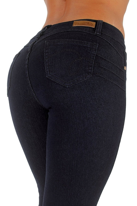 Plus Size Butt Lift Skinny Jeans