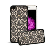 7 Plus Retro Palace Flower Case For Iphone 7 6 6s Plus SE 5 5s Fashion Vintage Floral Henna Paisley Mandala Phone Cases PC Cover - A Sheek Boutique