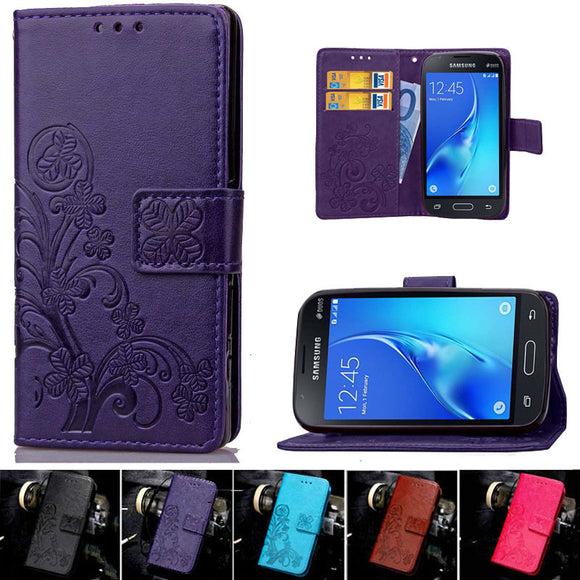 Multifunction Flip Wallet Leather phone Case For Samsung Galaxy J1 Mini Cover Coque J105 J105H Funda Phone bags With Card Holder